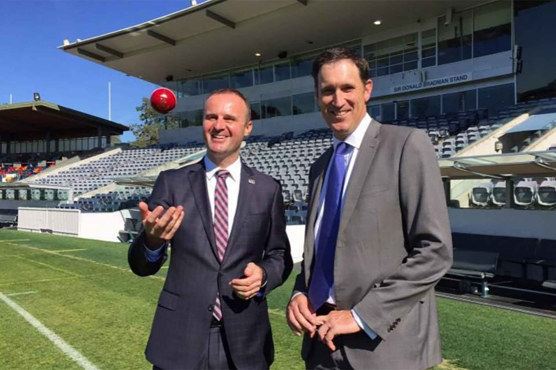 Canberra to host Test Cricket in 2018-19 Season