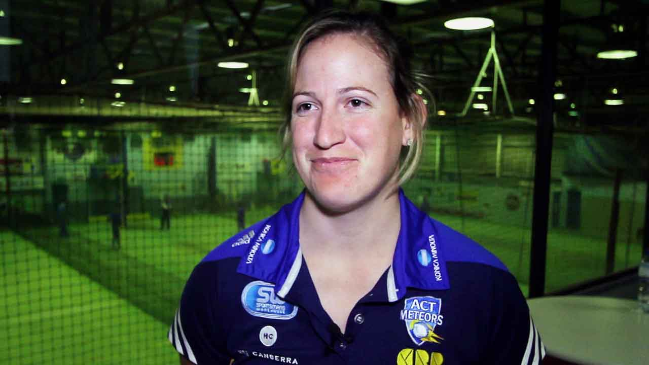 After re-signing with the Meteors and her appointment as coach of Cricket ACT's junior girls indoor cricket teams, Claire Koski speaks to CCTV.
