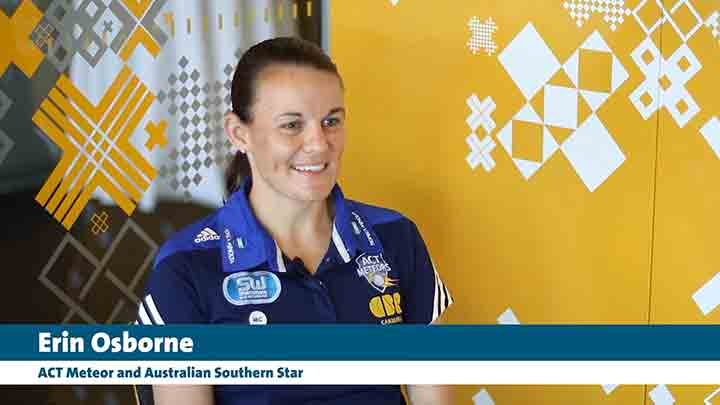 Erin Osborne sat down with CCTV after her WT20 world cup with the Southern Stars.
