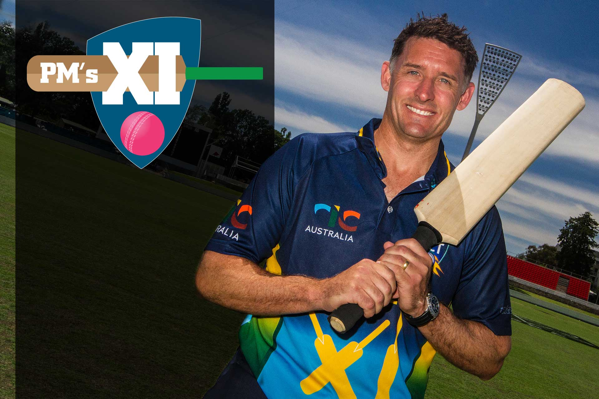 Mike Hussey to captain PM's XI with pink ball