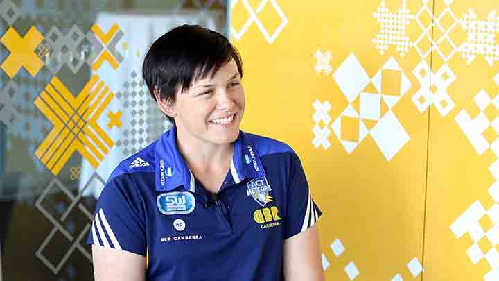 ACT Meteors captain Kris Britt speaks to CCTV about her new role.