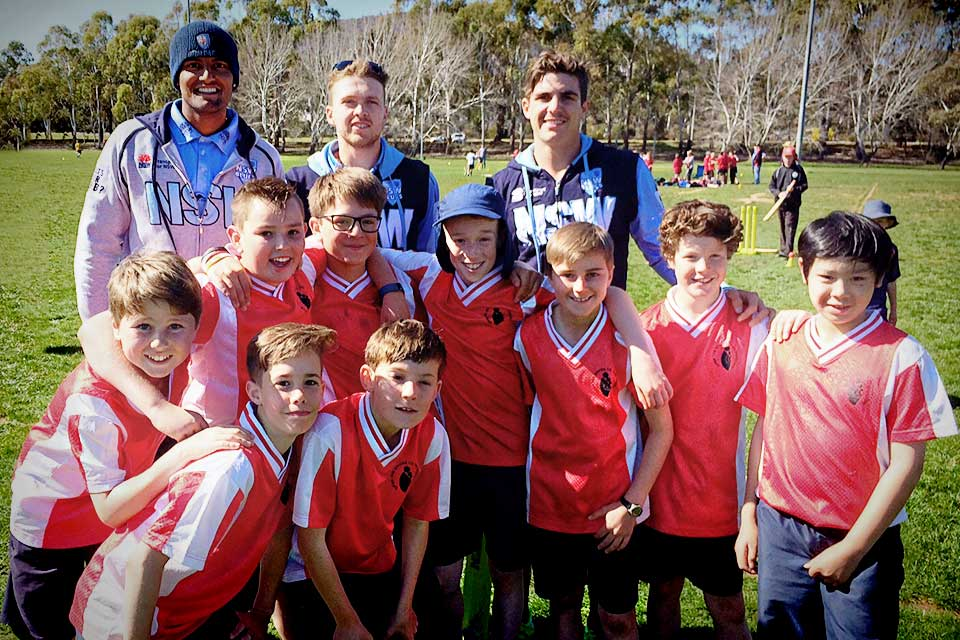 Canberra to host NSW Blues cricket stars