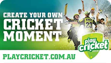 Create your own cricket moment at playcricket.com.au