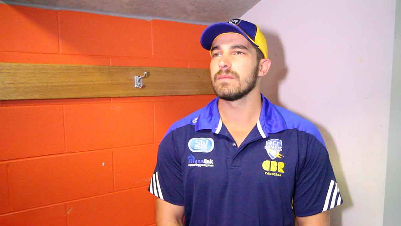 Michael Spaseski speaks with CCTV on the morning of Day 2 of the Futures League clash against Western Australia
