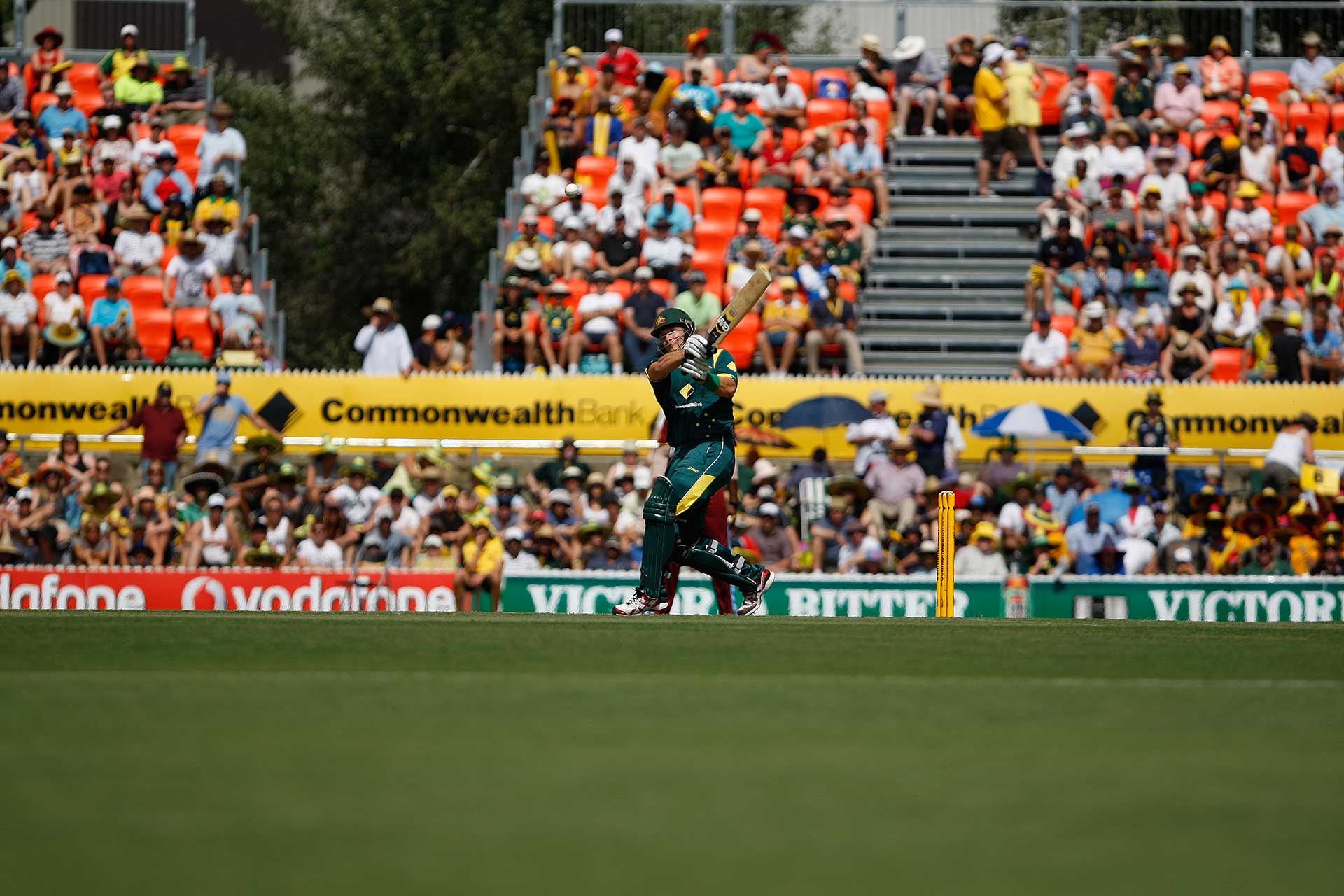 International Cricket at Manuka Oval locked in for four years