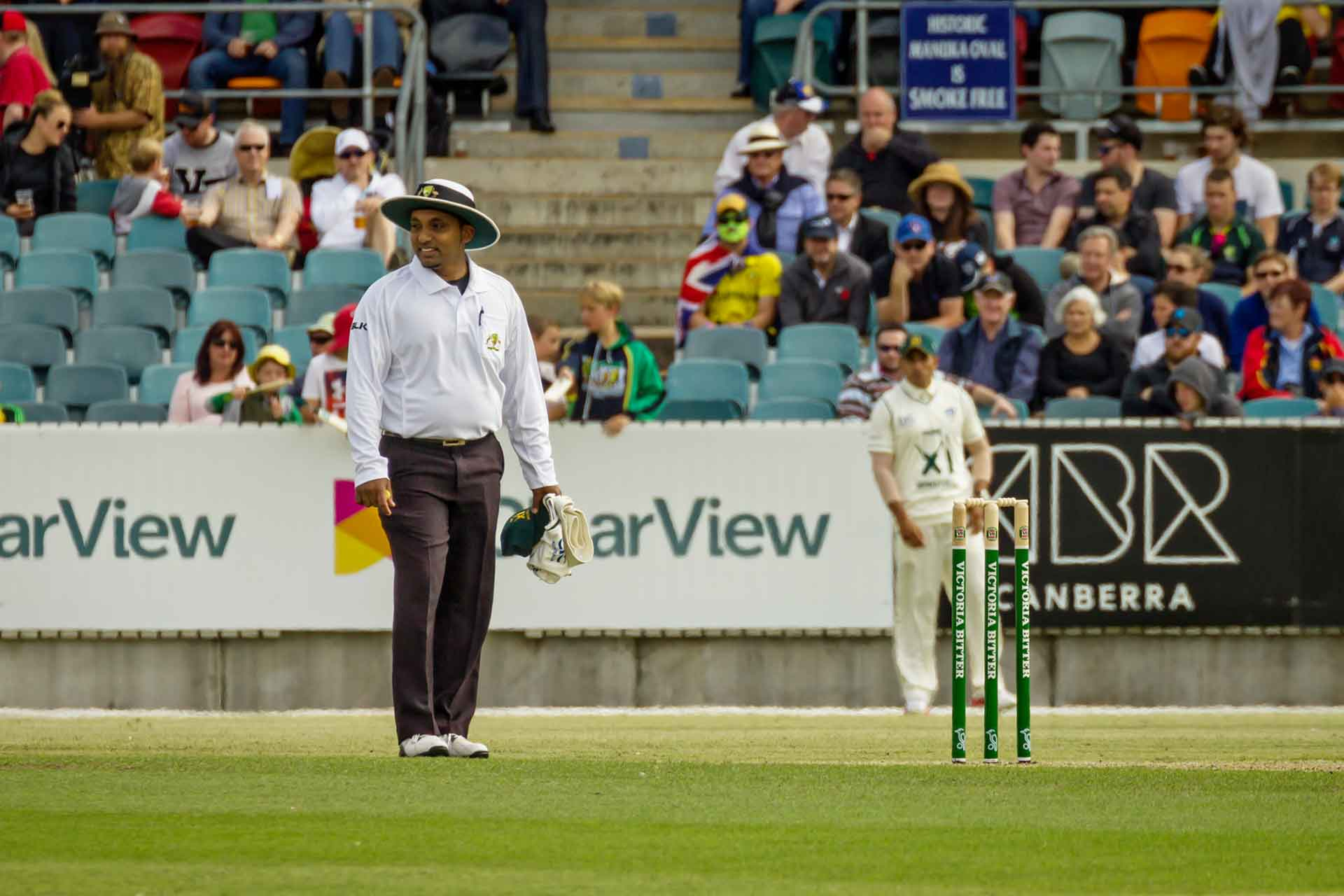 Pursuing a fortuitous dream – The umpiring experience